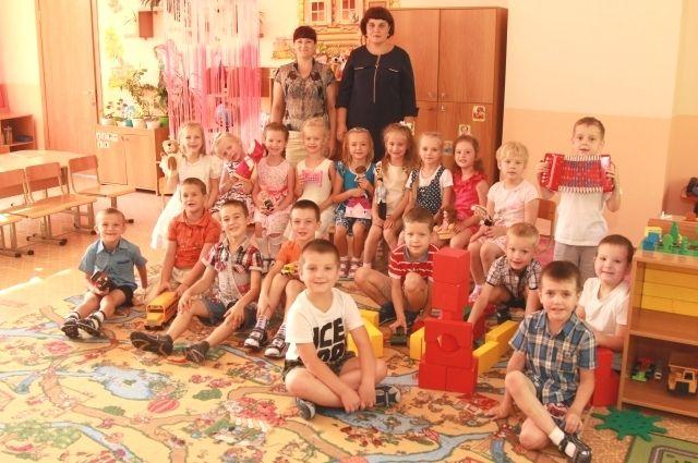 Воспитанники Детского сада №165