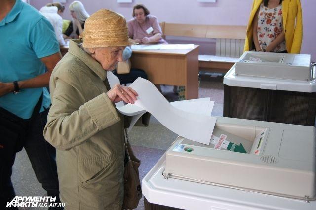 В Калининграде пенсионерка попыталась проголосовать по двум бюллетеням.
