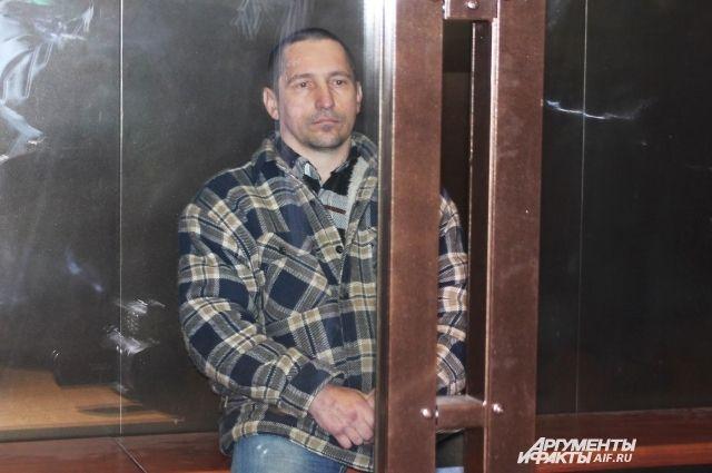 Сергей Егоров в зале суда