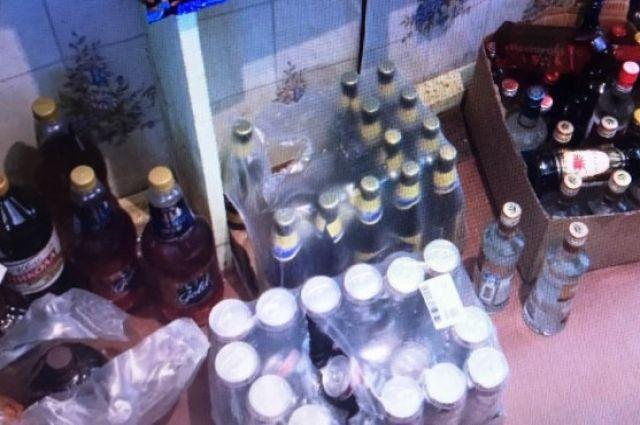 Крупную партию контрафактного алкоголя обнаружили в Новом Уренгое