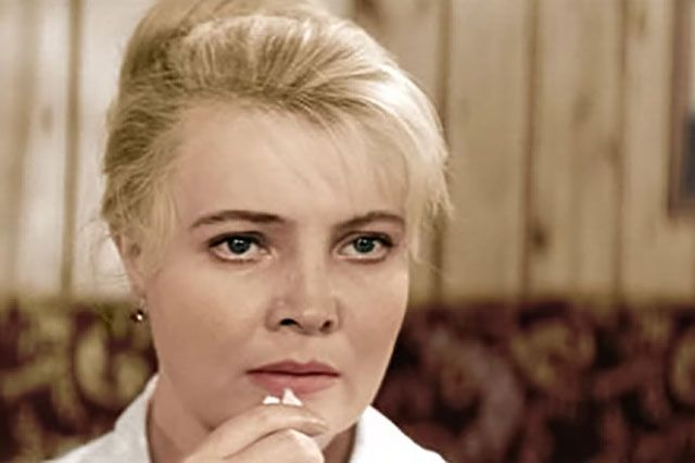 Татьяна Доронина, «Три тополя на Плющихе» (1967).