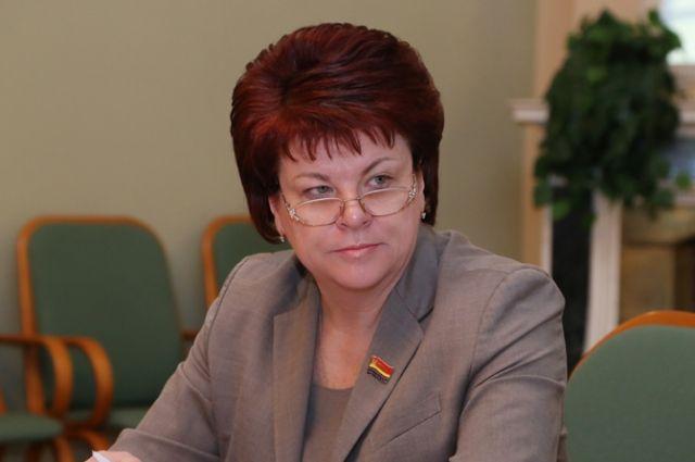 Председатель облдумы Марина Оргеева награждена Орденом Почета.