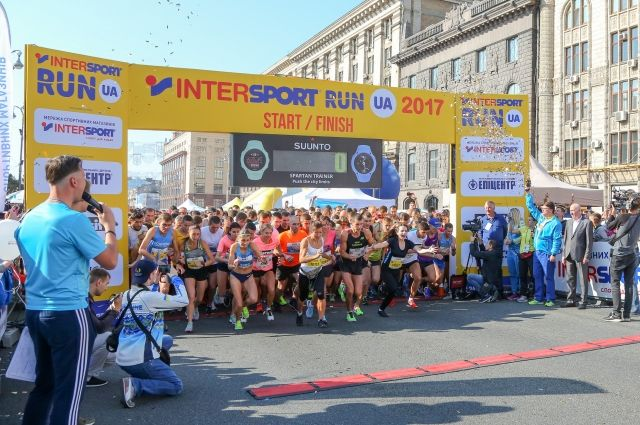 10000 спортсменов приняли участие в забеге INTERSPORT RUN UA 2017