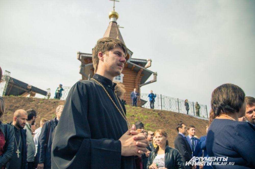 Православные паломники, священослужители и просто любители истории побывали в этот день в центре.