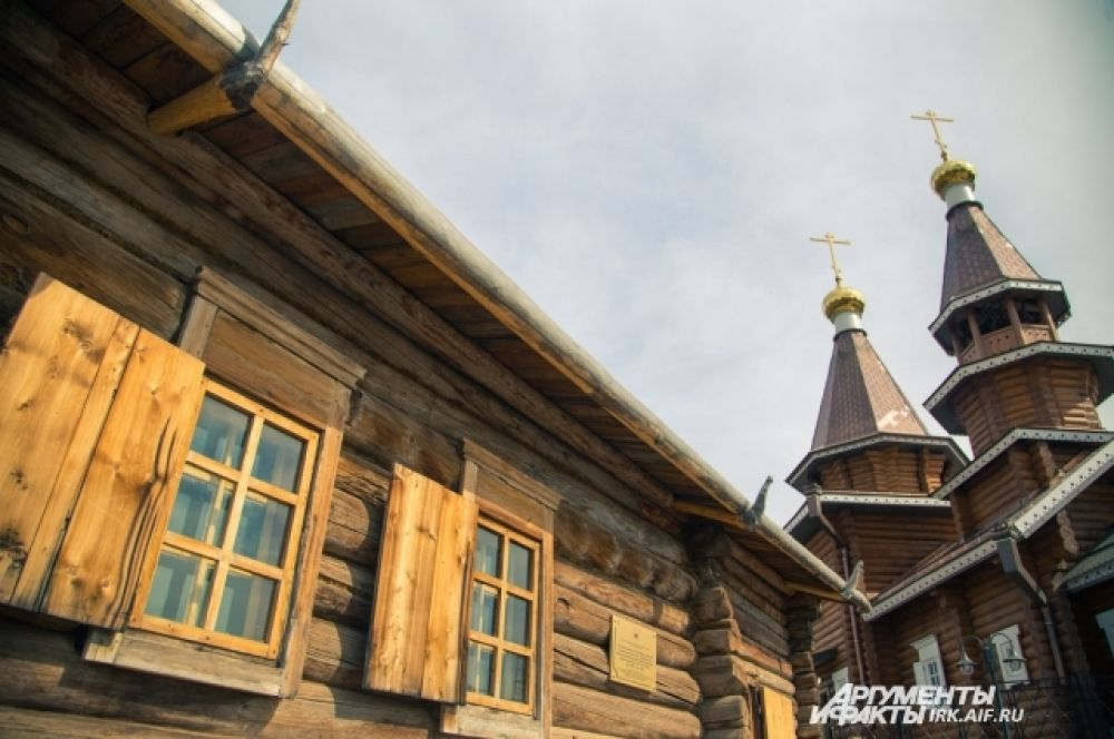 Сердцем комплекса, его духовным оплотом стал дом дяди Святителя Иннокентия, в котором он провел своё детство.
