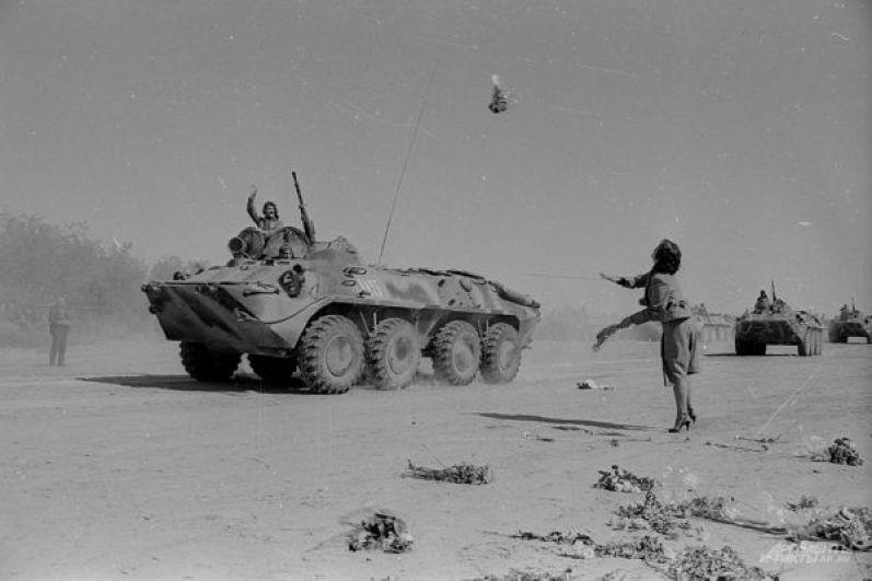Во время войны в Афганистане.