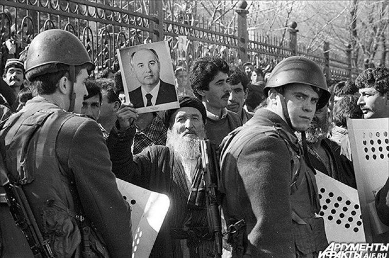 Гражданская война в Таджикистане. 1990 год.