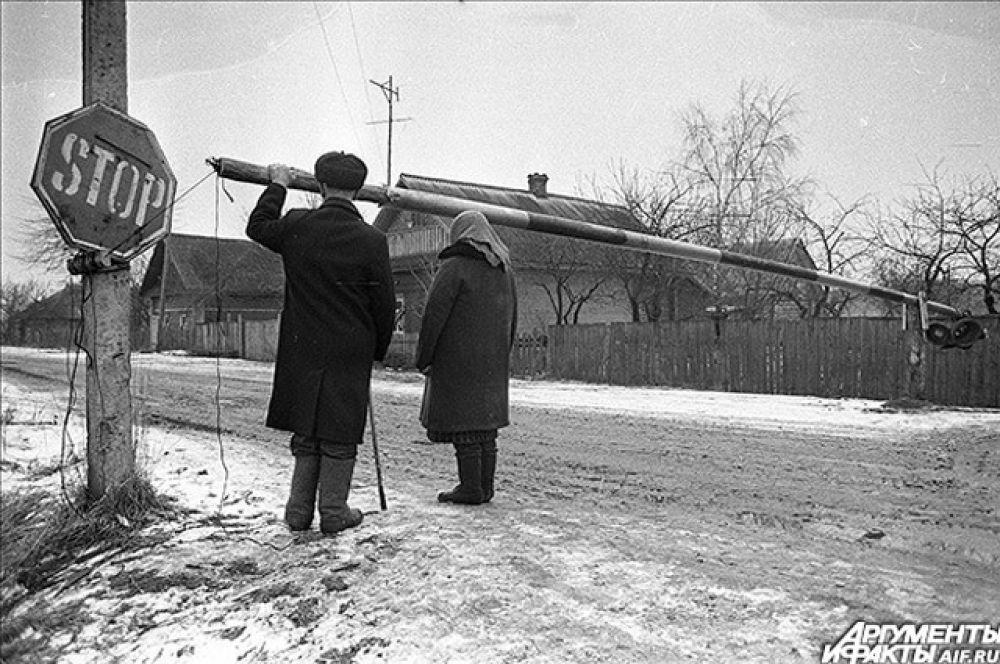 Чернобыльская зона. 1988 год.