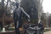 Памятник Андрею Матвеевичу Байкову в центре Ростова-на-Дону.