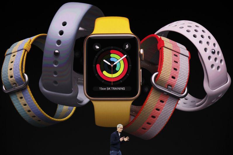 Первая новинка: Apple Watch 3.