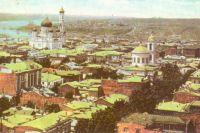Общий вид города Ростова-на-Дону в XIX веке.