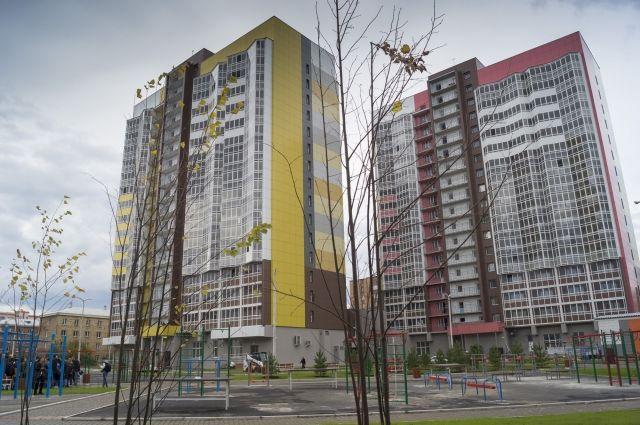 Здесь запланирована резиденция волонтёров, а по окончании соревнований - обычные студенческие общежития.