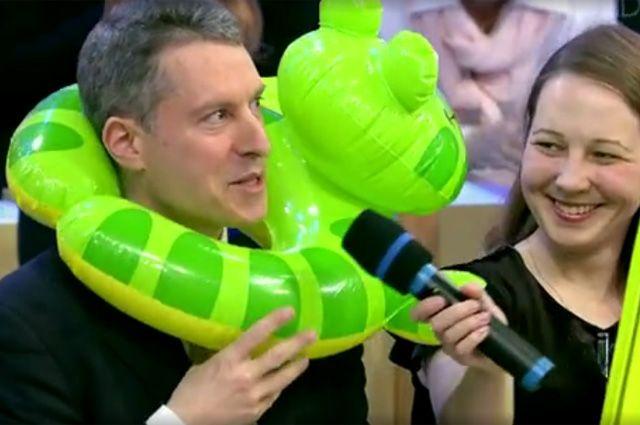Майкла Бома на нашем ТВ называют ласково Мишей.