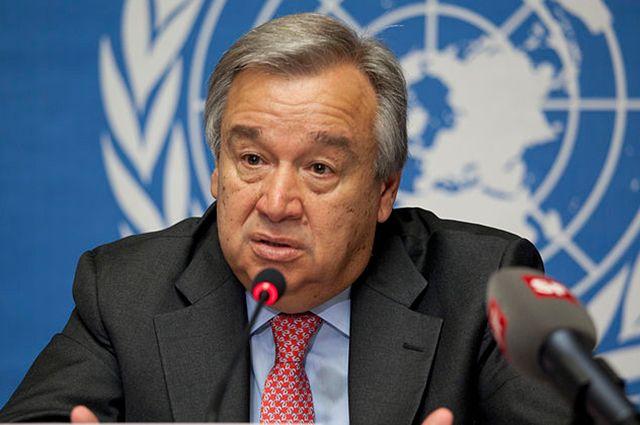 Генеральный секретарь ООН: военное решение поКНДР угрожает мировой аварией