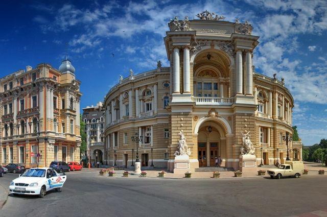 В Одессе обвалилось здание мэрии