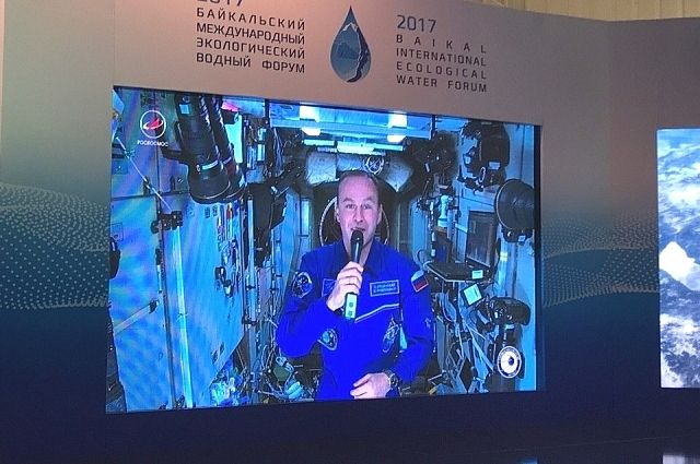 Космонавт Сергей Рязанский.