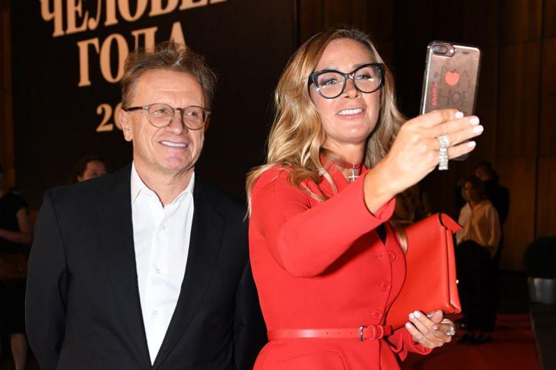 Издатель журнала «Собака.ru» Ника Белоцерковская, победившая в номинации «Вдохновение года», и её супруг, Борис Белоцерковский.