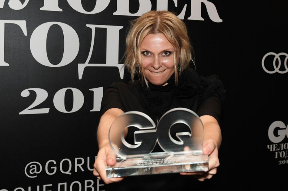 «Женщиной года» стала актриса Яна Троянова, исполнительница главной роли в популярном сериале «Ольга».