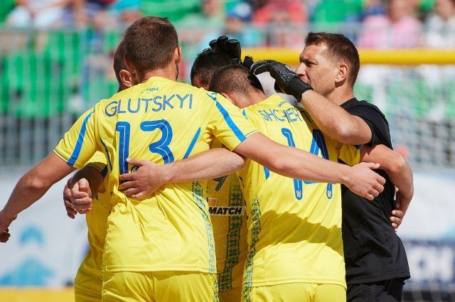 Сборная Украины по пляжному футболу сегодня стартует в суперфинале Евролиги