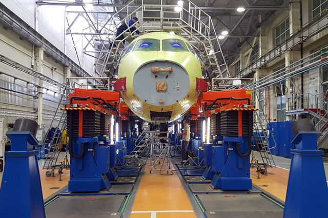Как на краю России собирают Sukhoi Superjet 100
