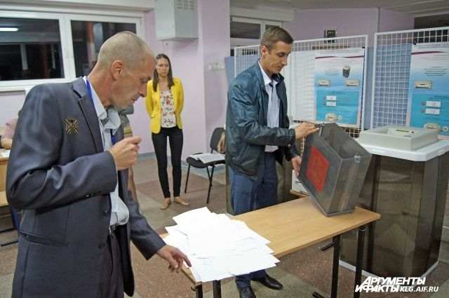 Накалинградца, устроившего дебош вдень выборов, завели уголовное дело