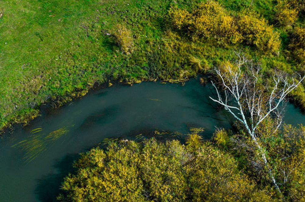 Красивые природные ландшафты в большинстве мест еще не затронуты разрушительными следами присутствия человека.