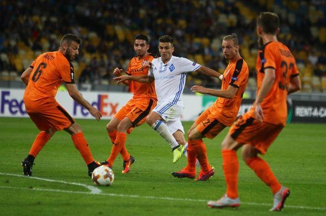 Лига Европы: Дебютные матчи в группах Динамо и Зари