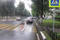 ДТП произошло на улице Ленина.