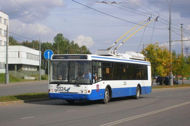 Движение троллейбусов в районе проведения забега будет полностью приостановлено.