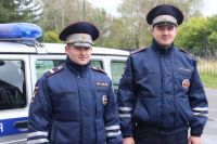 Лейтенант полиции Артур Паульс и старший сержант Александр Дружинин .