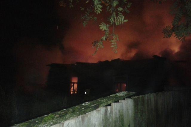 В сгоревшем в Ноябрьске многоквартирном доме проживала одна семья
