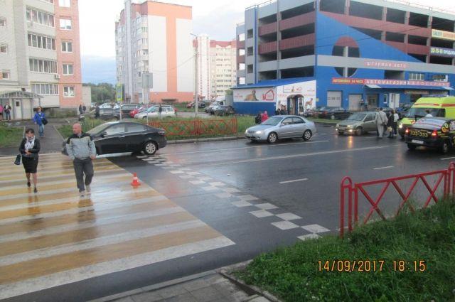 12-летняя девочка угодила под колеса вДзержинском районе Ярославля