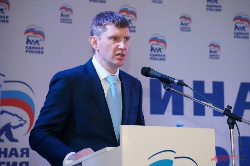 В июне «Единая Россия» выдвинула Решетникова на выборы губернатора.
