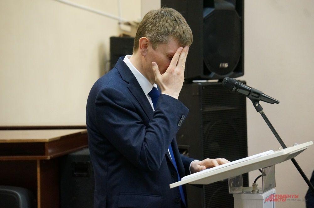 Сейчас перед Максимом Решетниковым стоят новые серьёзные задачи.