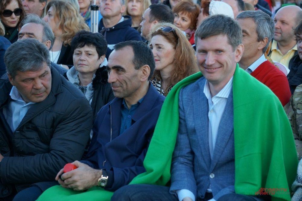 Максим Решетников на фестивале «Тайны горы Крестовой» в Губахе.
