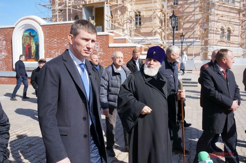 Оценить реконструкцию Белогорского монастыря врио приезжал несколько раз.