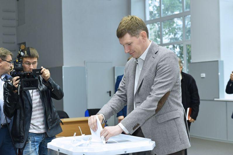 10 сентября в Прикамье прошли выборы. Решетников получил 82,06 % голосов избирателей.