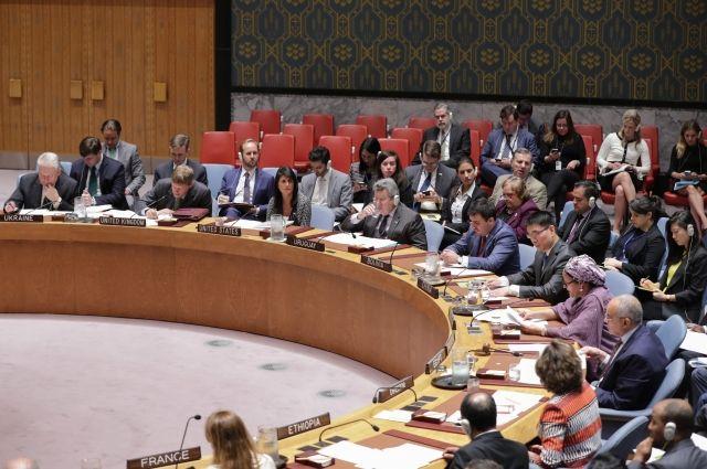 Совбез ООН осудил новый запуск ракеты КНДР