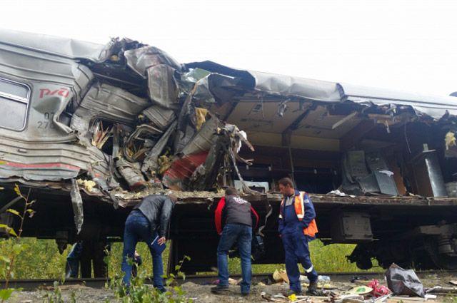 Количество погибших вДТП спассажирским поездом вХМАО возросло до21
