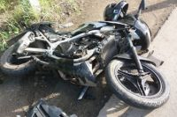 В Тюмени пьяный мотоциклист попал в ДТП