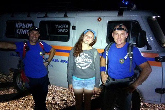 Девушка из Тюмени заблудилась в горах Крыма