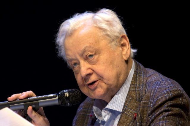 Олег Табаков.