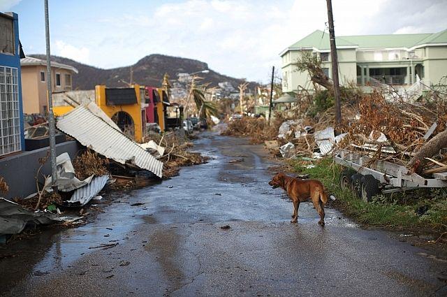Напротяжении 24 часов циклон «Мария» уничтожит Пуэрто-Рико