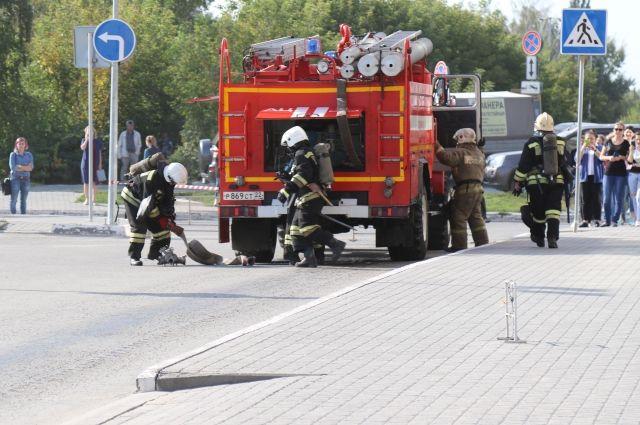 ВПетроградском районе неизвестные убили продавщицу иподожгли магазин