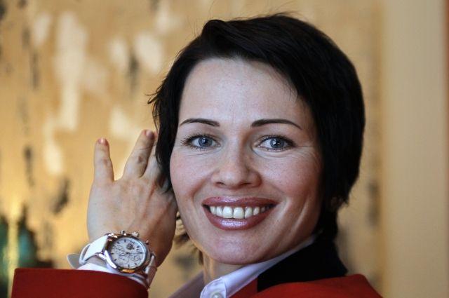 В Красноярске в аварию попала олимпийская чемпионка по биатлону Медведцева