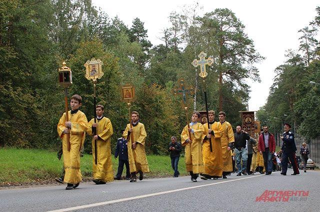 Крестный ход в память святой Елизаветы Федоровны