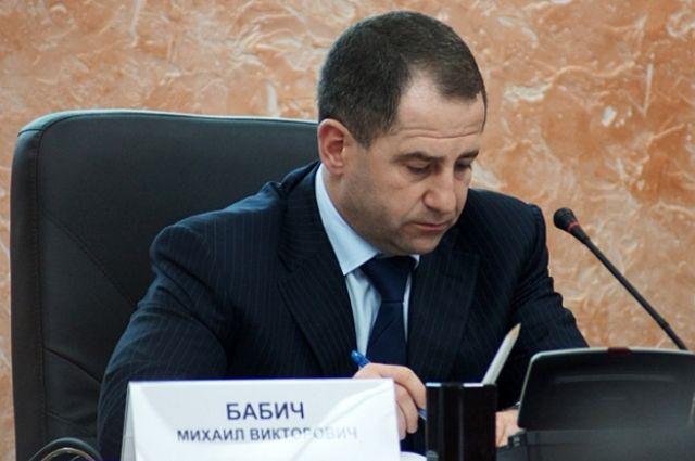Михаил Бабич в один день посетит две инаугурации.