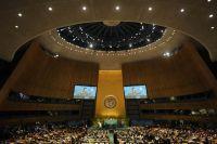 Зал Генеральной Ассамблеи ООН.