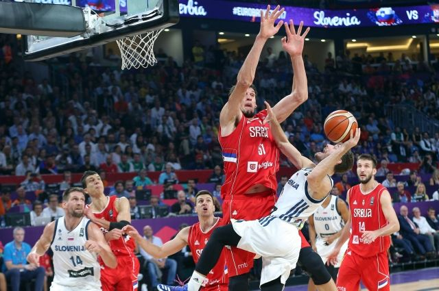 Сборная Словении впервый раз вистории стала чемпионом Европы побаскетболу