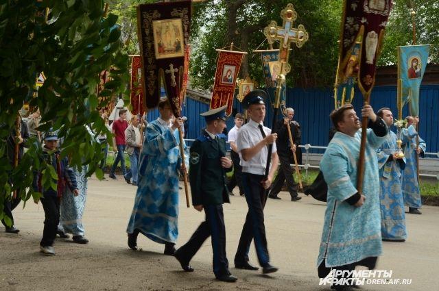 На Рождество Богородицы в Оренбурге пройдет крестный ход